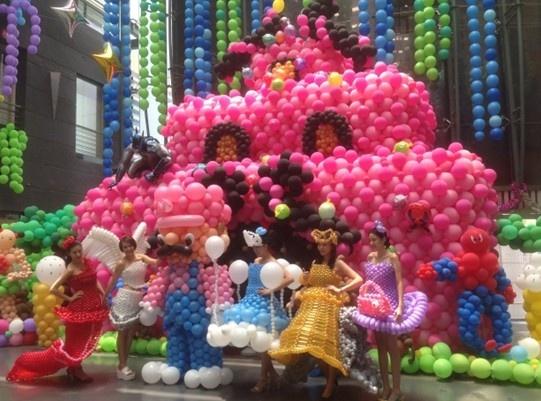 太原恒大华府首届魔幻气球展将于国庆席卷龙城