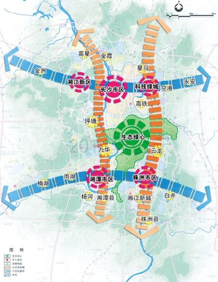 030年长株潭城市群核心区城镇人口超1400万
