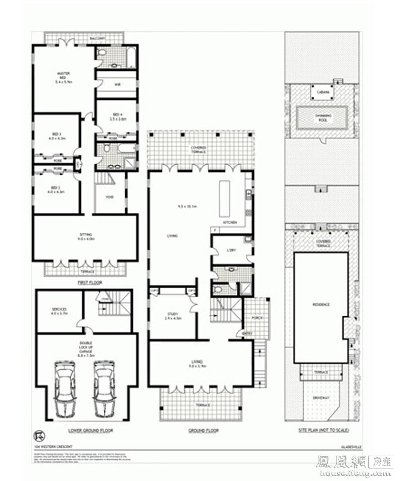 独栋别墅户型图