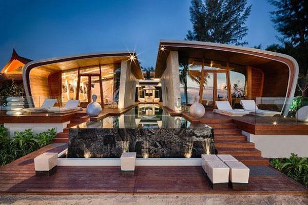 普吉岛的浪漫海景别墅