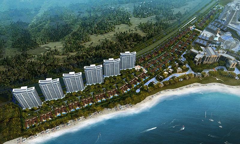 龙栖湾·新半岛规划图