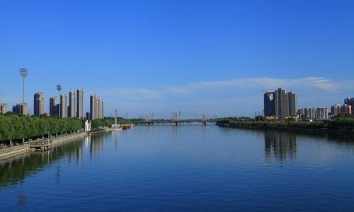 北京通州大运河两岸(资料图)