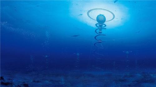 """日本设计未来城市:海底""""水晶宫""""""""环保""""优先"""