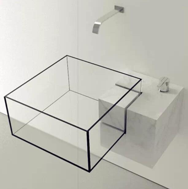 卫生间洗手盆结构图