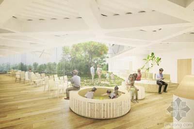 行业 建筑设计  日本著名建筑师隈研吾透露其在东京世田谷新特殊医院