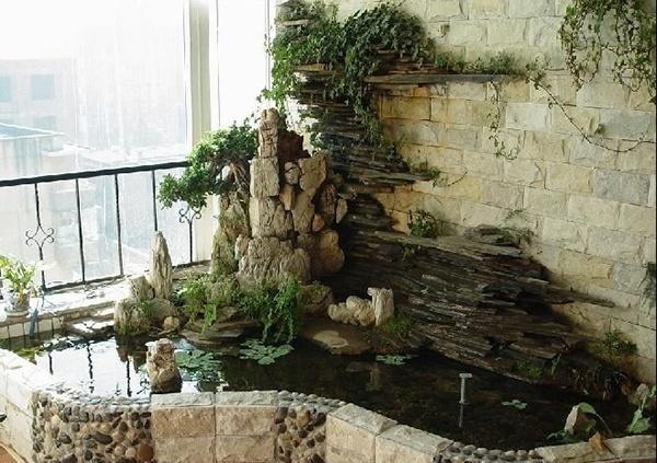 假山喷泉水池设计图