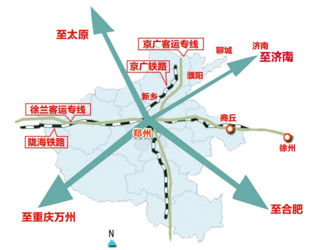 郑州到济南直线距离370公里