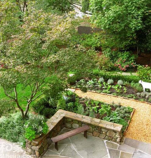 长方形的菜园设计图片