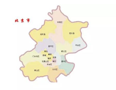 北京青岛廊坊地图