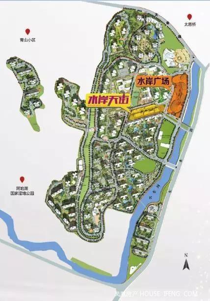 贵阳即将发售的城市级水岸商圈-国际城·水岸