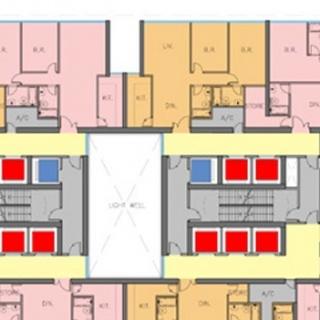 商务公寓平面
