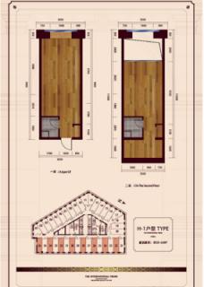 公寓标准层H1户型