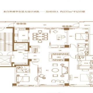 5B户型-4房2厅3卫