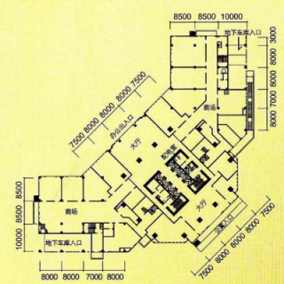楼层平面图2