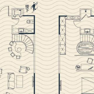酒店式公寓标准层LOFT户型(售完)