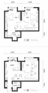 一期高层标准层三室150平户型