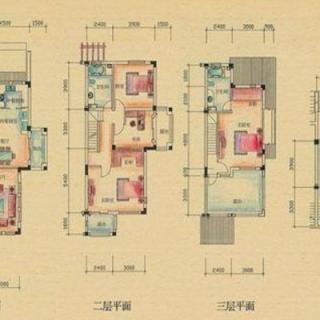 别墅户型图