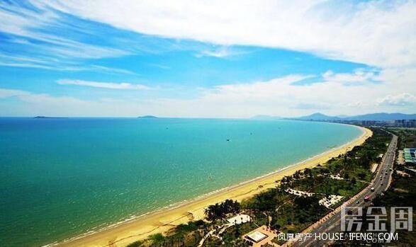 三亚海湾风景照片