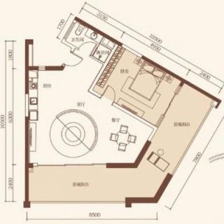 公寓户型3