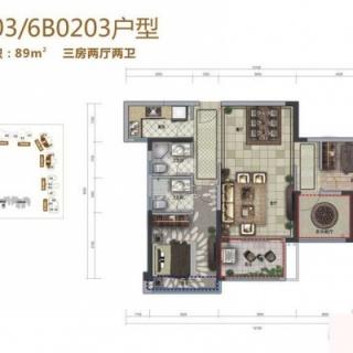 6A/6B号楼02/03户型