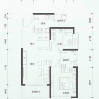 二期洋房E1单元