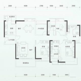 二期洋房G3(1)单元