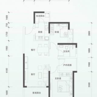 二期洋房E2单元