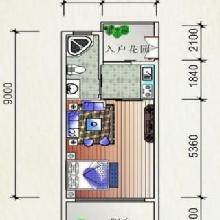 公寓紧凑型户型39.40㎡