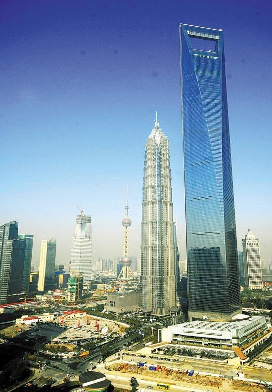 """中国第一高楼""""上海中心""""正式分步启用 高632米 - 渴望真爱 - 携梦飞翔"""