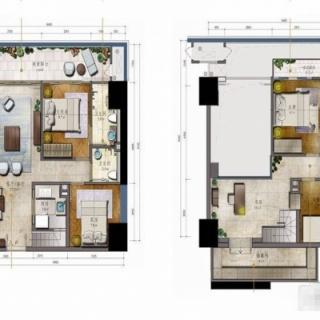 LOFT公寓 M户型
