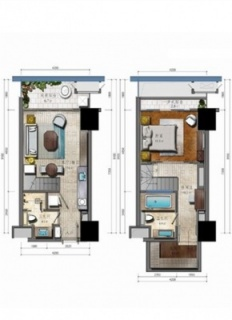 LOFT公寓E户型