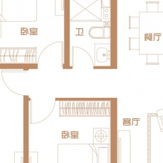 10号楼首层户型(一)
