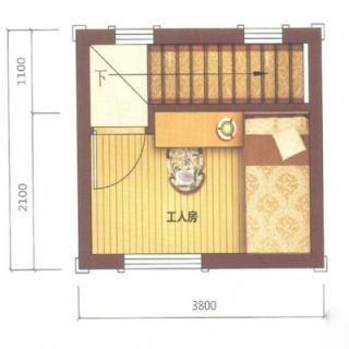 美墅D户型4层