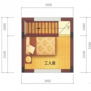 艺墅B1户型4层