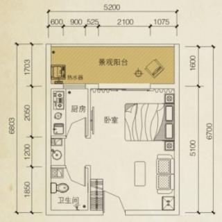 美兰之家A1花园洋房户型图
