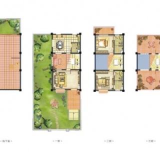 C4海螺别墅户型图