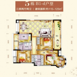 5栋B1-d户型图