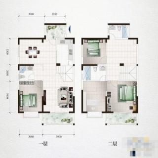 16栋楼户型图