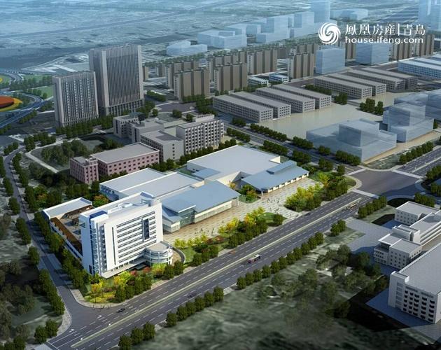 青岛国际创新园预计年底前全部竣工