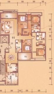 4座双江豪景大宅2-26层02户型