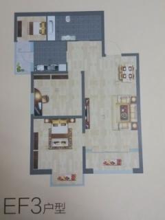 EF3户型图三室两厅96平