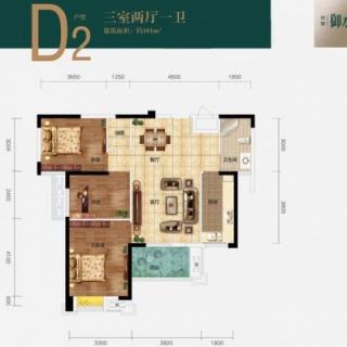 13号楼D2户型