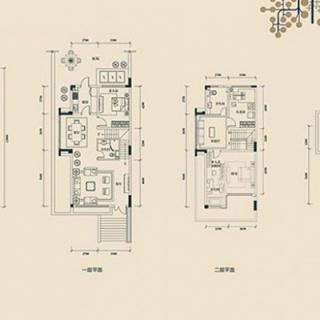 联排别墅D2户型