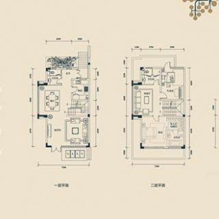 联排别墅E2户型
