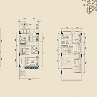 联排别墅D1户型