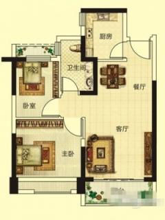 标准层133(2-21)户型6