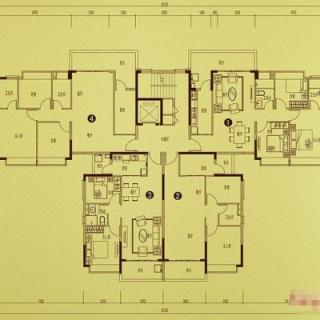 公寓S13-La(218.219栋)户型