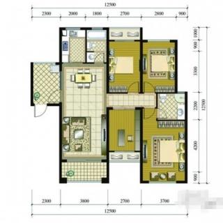 2号楼(1-2)户型