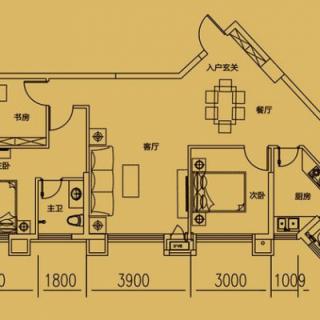 格调公寓24层户型