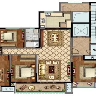 4室2厅2卫户型